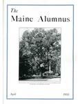Maine Alumnus, Volume 14, Number 7, April 1933
