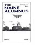 Maine Alumnus, Volume 15, Number 2, November 1933