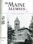 Maine Alumnus, Volume 16, Number 2, November 1934 by General Alumni Association, University of Maine