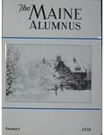 Maine Alumnus, Volume 16, Number 4, January 1935