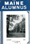 Maine Alumnus, Volume 21, Number 1, October 1939 by General Alumni Association, University of Maine