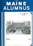 Maine Alumnus, Volume 21, Number 6, March 1940