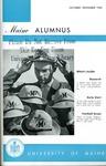 Maine Alumnus, Volume 44, Number 2, October-November 1962