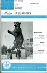 Maine Alumnus, Volume 44, Number 3, December 1962 by General Alumni Association, University of Maine