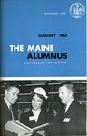 Maine Alumnus, Volume 46, Number 4, January 1965 by General Alumni Association, University of Maine