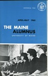 Maine Alumnus, Volume 46, Number 6, April-May 1965 by General Alumni Association, University of Maine