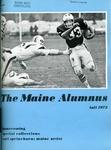 Maine Alumnus, Volume 54, Number 2, Fall 1972 by General Alumni Association, University of Maine