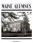 Maine Alumnus, Volume 22, Number 2, November 1940 by General Alumni Association, University of Maine