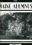 Maine Alumnus, Volume 26, Number 1, October 1944 by General Alumni Association, University of Maine