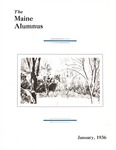 Maine Alumnus, Volume 17, Number 4, January 1936 by General Alumni Association, University of Maine