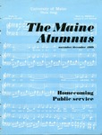 Maine Alumnus, Volume 51, Number 2, November-December 1969