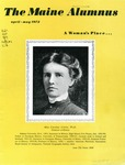 Maine Alumnus, Volume 53, Number 4, April-May 1972 by General Alumni Association, University of Maine