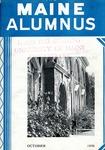 Maine Alumnus, Volume 18, Number 1, October 1936