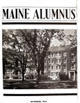 Maine Alumnus, Volume 23, Number 1, October 1941 by General Alumni Association, University of Maine