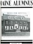 Maine Alumnus, Volume 25, Number 2, November 1943