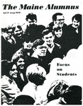 Maine Alumnus, Volume 51, Number 4, April-May 1970 by General Alumni Association, University of Maine