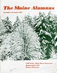 Maine Alumnus, Volume 53, Number 2, November-December 1971 by General Alumni Association, University of Maine