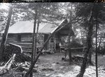 Sewall's Camp On Katahdin by Bert Call