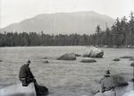 Katahdin from Hurd Pond? by Bert Call