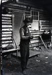 Mr. A. Frank Sewell at his camp on Katahdin by Bert Call