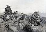 At the Monuments - Katahdin by Bert Call