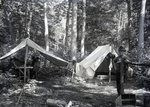 York's Tents at Slaughter Pond by Bert Call