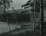 Katahdin from Togue Pond Camps by Bert Call