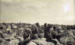 People in Boulder Field (Untitled) by Bert Call