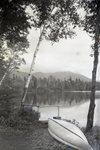 Katahdin from Kidney Pond Camps by Bert Call
