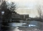 Piscataquis River and Bridge, Abbott by Bert Call