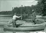 Pickerel Catch at Lower Togue Ernest and Mrs. by Bert Call