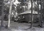 Party at Family Camp at Togue Pond by Bert Call