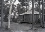Family Cabin at Togue Pond by Bert Call