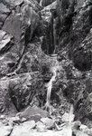 Falls in Katahdin Chimney by Bert Call
