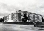 Millinocket Stearns High School by Bert Call