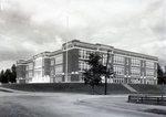 Millinocket School House by Bert Call