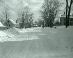 Snow Scene - Houses  March 4, 1926