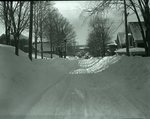 Snow Scene, Banks, Top of Houses  March 4, 1926