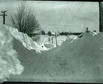 Snow Scene, Snow Banks  March 4, 1926