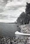 Scenic View Canoe by Bert Call