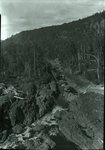 Ripogenus Gorge from Dam Sept. 5, 1927