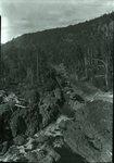 Ripogenus Gorge from Dam Sept. 5, 1927 by Bert Call