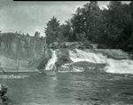 Little Niagara - Sourdnahunk Stream Sept. 5, 1927 by Bert Call