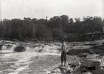 Sourdnahunk Falls on West Branch  Sept. 5, 1927