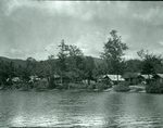 Bradeen and Clifford's Camps, Kidney Pond - Sept. 5, 1927 by Bert Call