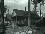 Bradeen and Clifford's Camps - Kidney Pond Sept. 5, 1927 by Bert Call