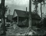 Bradeen and Clifford's Camps Kidney Pond Sept. 5, 1927 by Bert Call