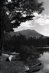 Katahdin from Kidney Pond Sept. 5, 1927 by Bert Call