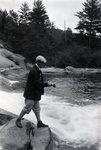 On Sourdnahunk (Gene Sewell Fishing) 1928 by Bert Call