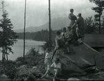 At York's Camps 1928 by Bert Call